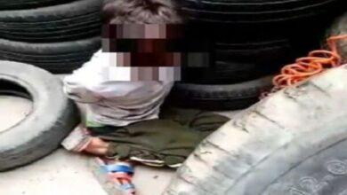 تصویر از کودک آزار نیشابوری دستگیر شد + فیلم دلخراش