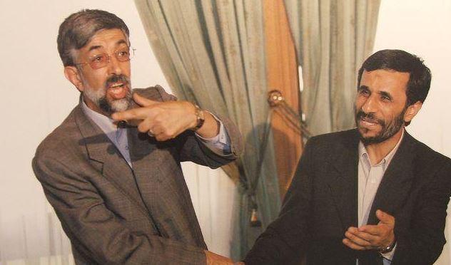 احمدی نژاد و حداد عادل