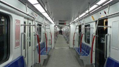 تصویر از سرقت عجیب از میلههای متروی پایتخت + فیلم