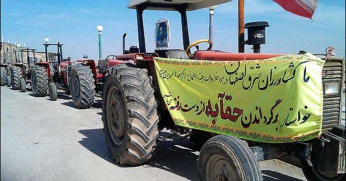 اعتراض کشاورزان اصفهانی به غیر قانونی بودن برداشت آب زایندهرود