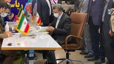 تصویر از محمود احمدی نژاد کاندید انتخابات ریاستجمهوری شد + فیلم
