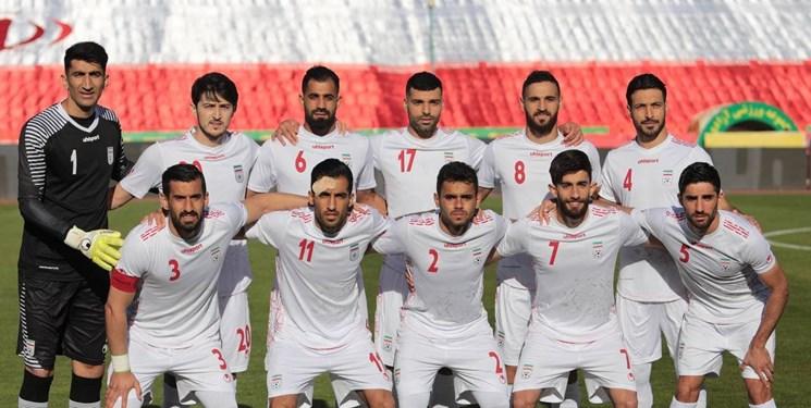 لیست بازیکنان تیم ملی فوتبال ایران
