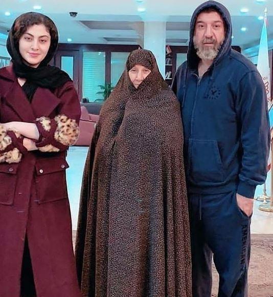 مریم مؤمن و علی انصاریان (2)