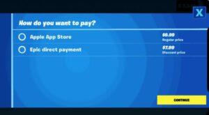 گزینه جدید پرداخت درون برنامهای Fortnite منجر به حذف شدن آن از اپ استور شد