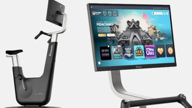 تصویر از Playpulse One | تمرین با دوچرخه ثابت همراه با بازیهای ویدیویی