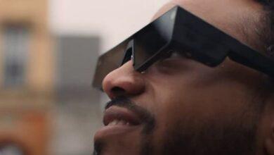 تصویر از عینک اسنپ چت | واقعیت افزوده روی چشمان شما