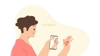 تصویر از هوش مصنوعی گوگل میتواند در شناسایی بیماریهای پوستی کمک کند