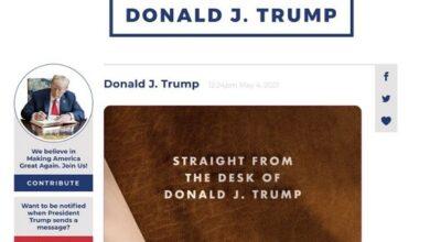 تصویر از ترامپ پلتفرم جدید ارتباطاتی خود را راهاندازی میکند