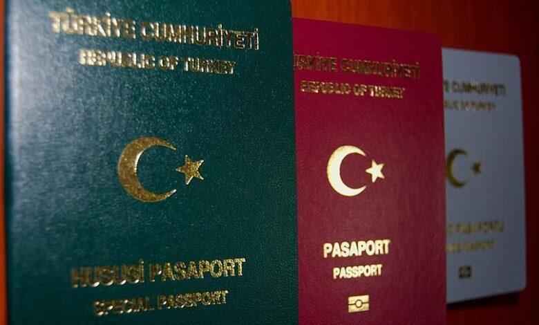 تصویر از شرایط و هزینه اخذ انواع پاسپورت ترکیه
