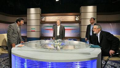 تصویر از حواشی مناظره موسوی احمدی نژاد از زبان مجری مناظره