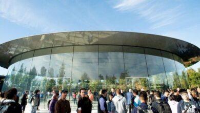 تصویر از کارمندان اپل علیه طرح کاری این شرکت تجمع کردند