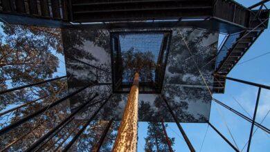 تصویر از با اولین هتل نامرئی ساخته شده در جهان آشنا شوید