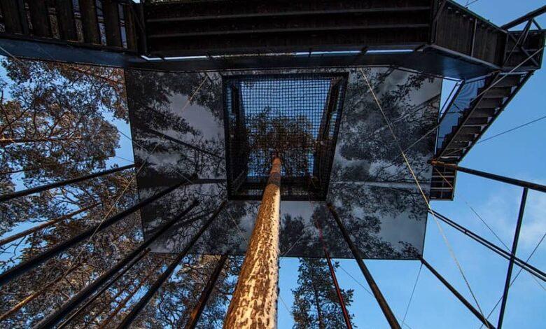 با اولین هتل نامرئی ساخته شده در جهان آشنا شوید