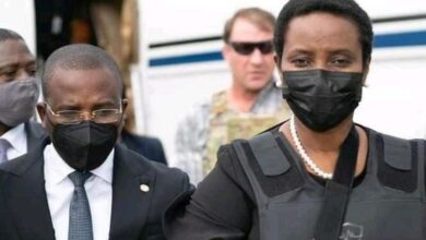 تصویر از همسر جوونیل مویس، رئیس جمهور ترور شده هائیتی، از سوءقصد جان سالم به در برد