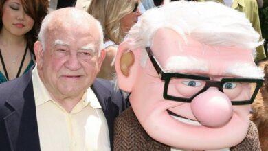 تصویر از اد اسنر بازیگر فیلمهای لو گرانت و آپ در ۹۱ سالگی درگذشت