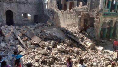 تصویر از زمین لرزه مرگبار ۷.۲ ریشتری هائیتی را لرزاند