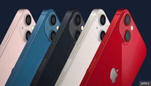 رنگهای جدید شامل صورتی، آبی، نیمه شب، استارلایت و قرمز