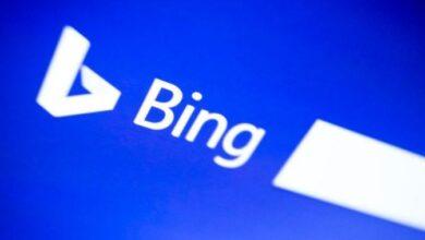 تصویر از گوگل میگوید، بیشترین کلمه جستجو شده در بینگ، «گوگل» است.